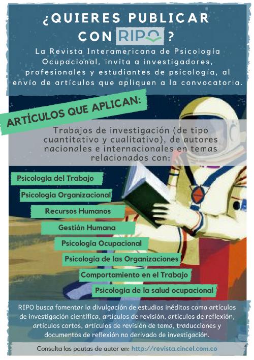 revista interamericana de psicología ocupacional